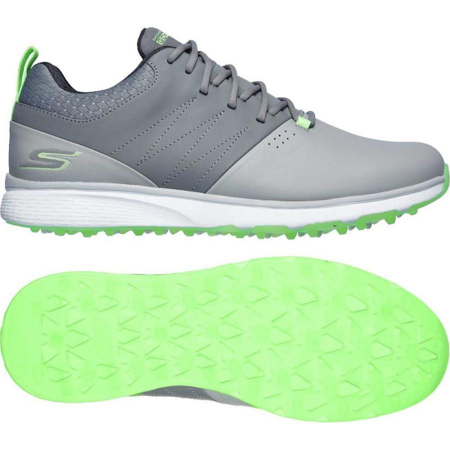 スケッチャーズ Skechers メンズ ゴルフ シューズ・靴 go golf mojo punch shot golf shoes グレー/Lime
