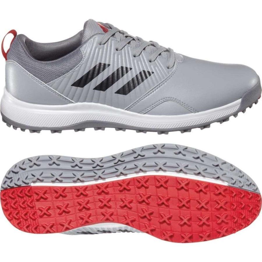 アディダス adidas メンズ ゴルフ シューズ・靴 cp traxion sl golf shoes グレー/赤