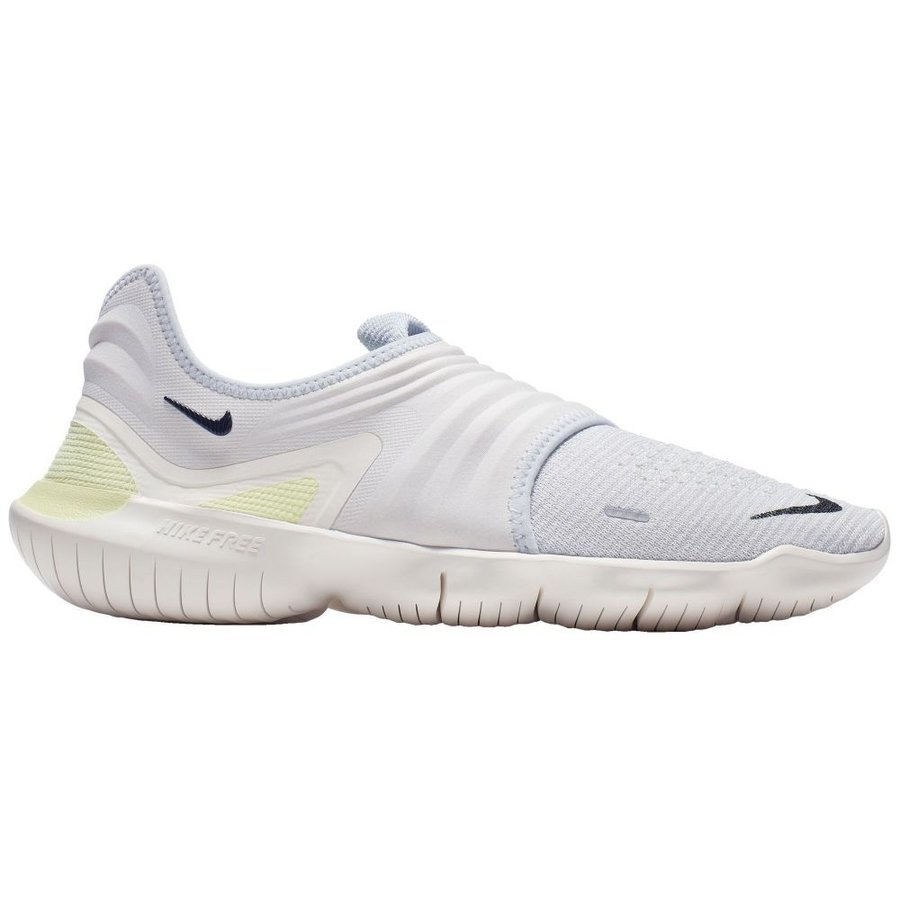 ナイキ Nike メンズ ランニング・ウォーキング シューズ・靴 free rn flyknit 3.0 running shoes Platinum/黒/Luminous 緑