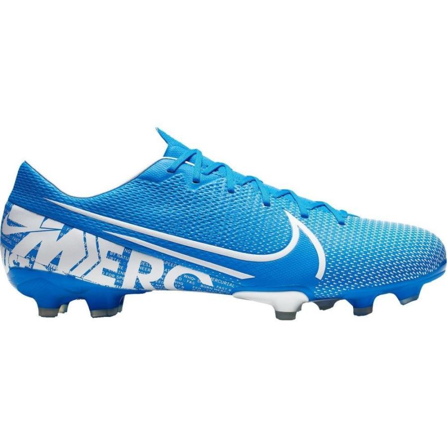 ナイキ Nike レディース サッカー スパイク シューズ・靴 mercurial vapor 13 academy fg soccer cleats 青/白い