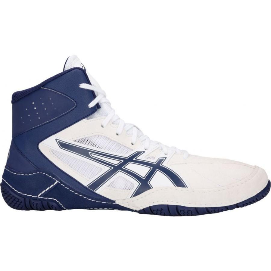 アシックス ASICS メンズ シューズ・靴 レスリング Matcontrol Wrestling Shoes 白い/青