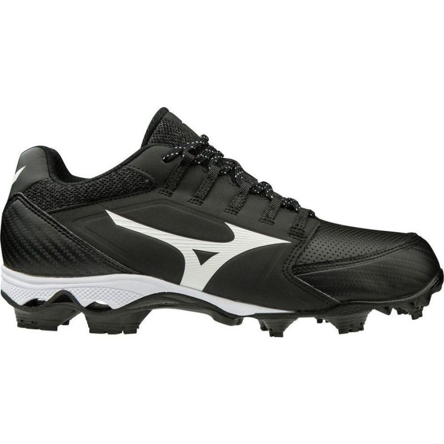 ミズノ Mizuno レディース シューズ・靴 野球 9-Spike Advanced Finch Elite 4 Softball Cleats 黒/白い