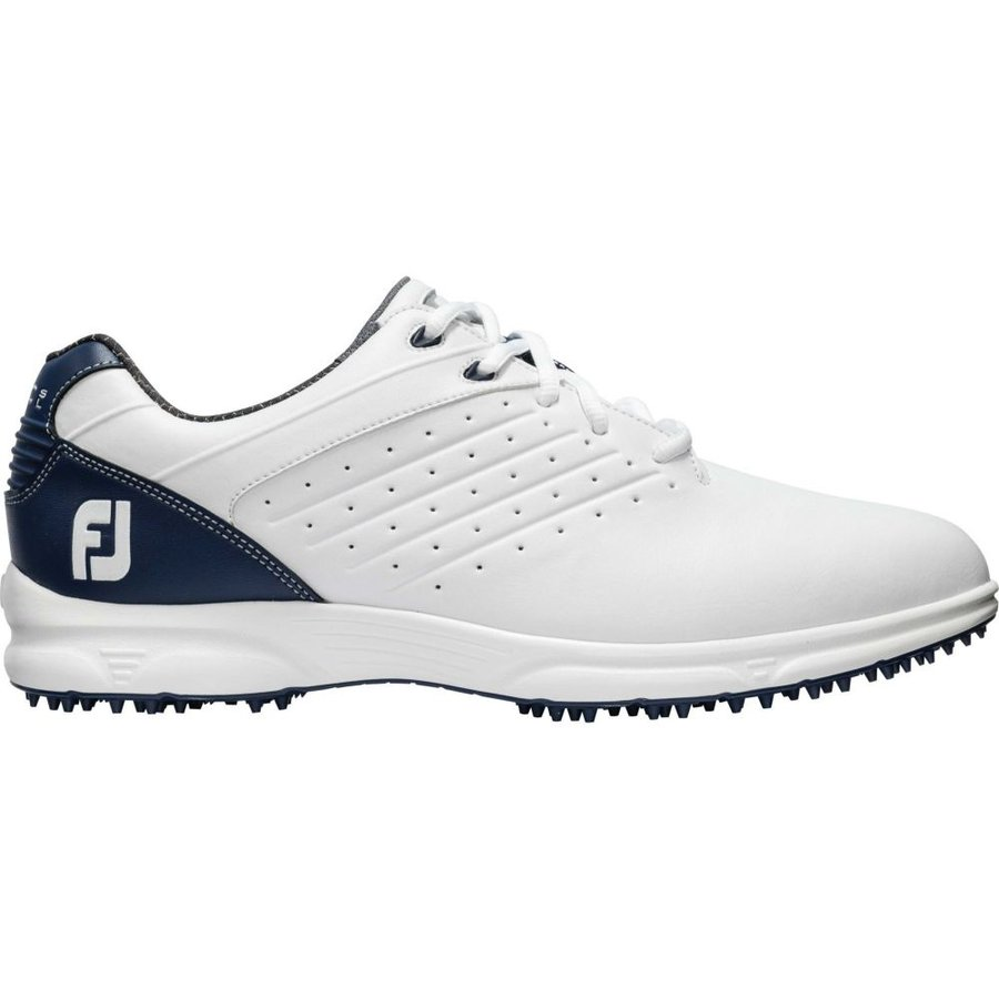 【18%OFF】 フットジョイ FootJoy メンズ ゴルフ シューズ・靴 ARC SL Golf Shoes (Previous Season Style) White/Navy, FIT HOUSE e25dadfd