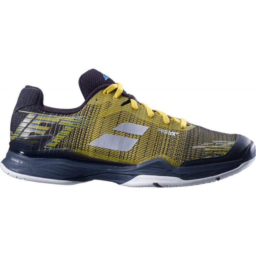 春新作の バボラ Babolat メンズ テニス シューズ・靴 Jet Mach II Tennis Shoes Yellow/Black, ROYALPACIFIC 4bec4635