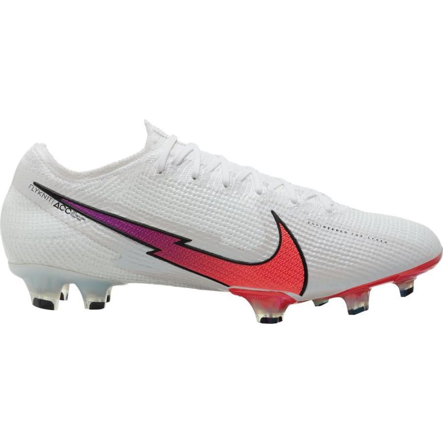 ナイキ Nike メンズ サッカー スパイク シューズ·靴 Mercurial Vapor 13 Elite FG Soccer Cleats White/Red