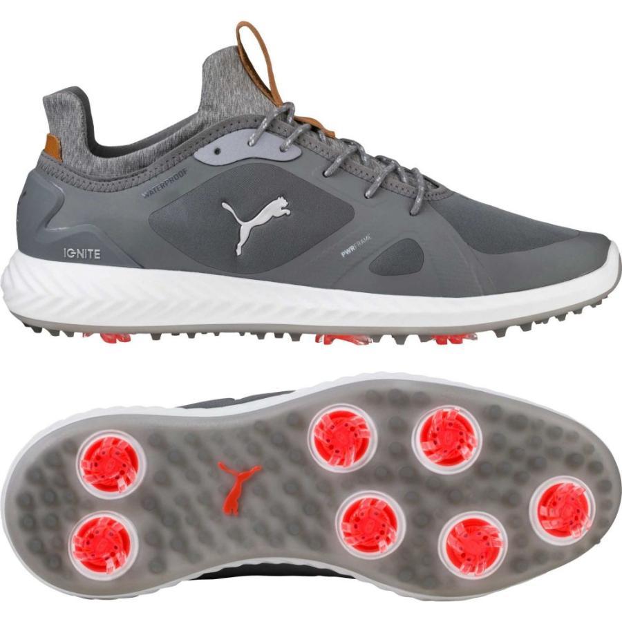 爆買い! プーマ PUMA メンズ ゴルフ ゴルフ シューズ Golf・靴 IGNITE Shoes PWRADAPT Golf Shoes Grey/White, ニシイワイグン:b9a3c8b8 --- airmodconsu.dominiotemporario.com