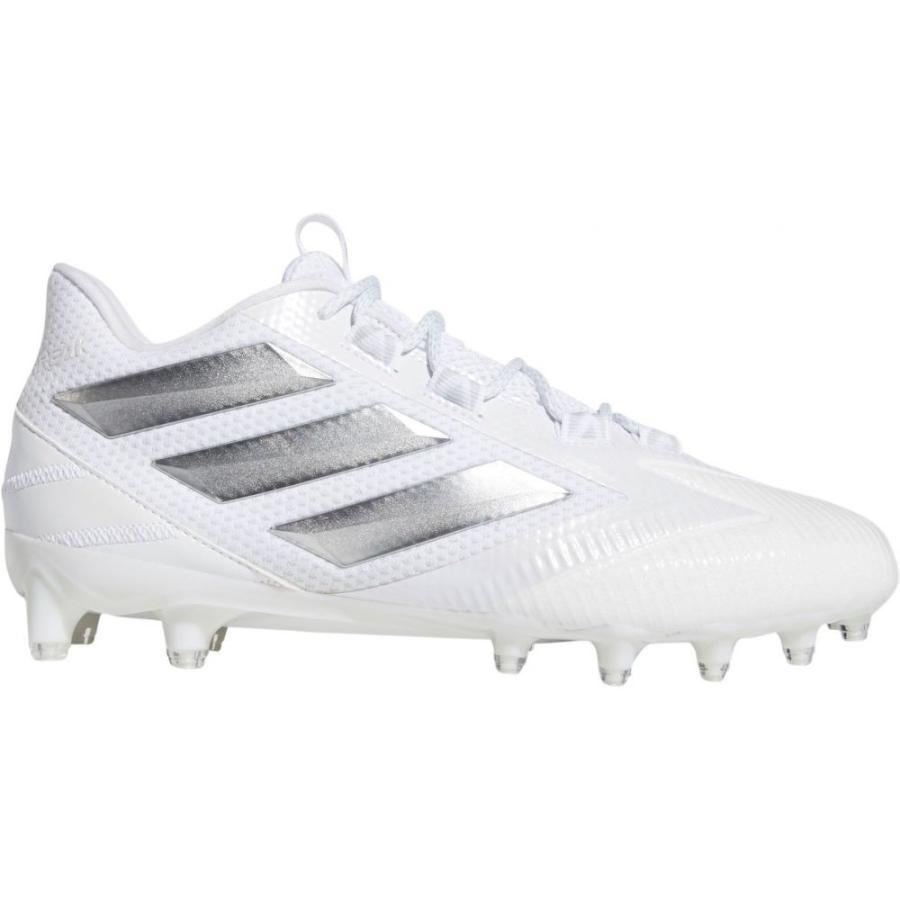 売上実績NO.1 アディダス adidas adidas メンズ アメリカンフットボール メンズ Cleats スパイク シューズ・靴 Freak Carbon Football Cleats White/Silver, クッキングクロッカ:56e59429 --- airmodconsu.dominiotemporario.com