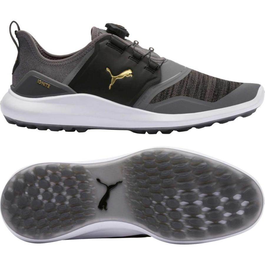 2019年最新入荷 プーマ PUMA メンズ ゴルフ シューズ・靴 IGNITE NXT DISC Golf Shoes Grey/White, UPPER GATE a5b1104b