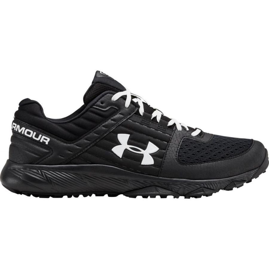 新しいスタイル アンダーアーマー Under Armour Black/White メンズ 野球 スニーカー Shoes スニーカー シューズ・靴 Yard Trainer Baseball Turf Shoes Black/White, 【有名人芸能人】:2b2f7099 --- photoboon-com.access.secure-ssl-servers.biz