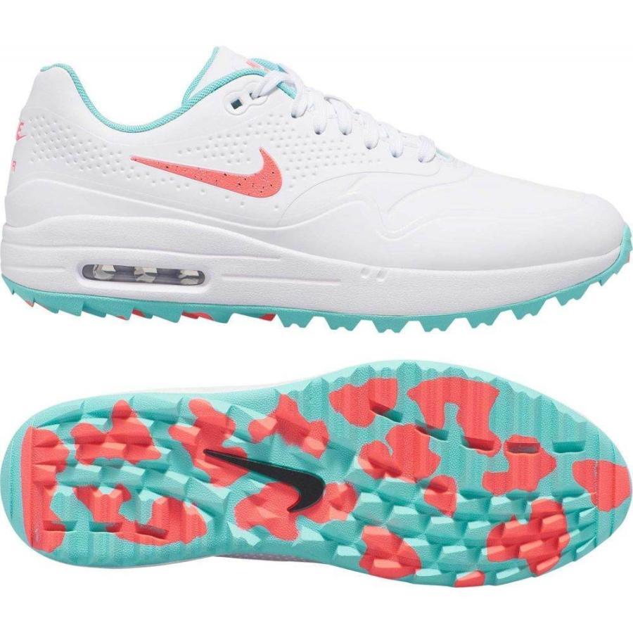 【おしゃれ】 ナイキ Nike メンズ ゴルフ シューズ・靴 Air Max 1 G Golf Shoes White/Pink, イナサグン 90432647