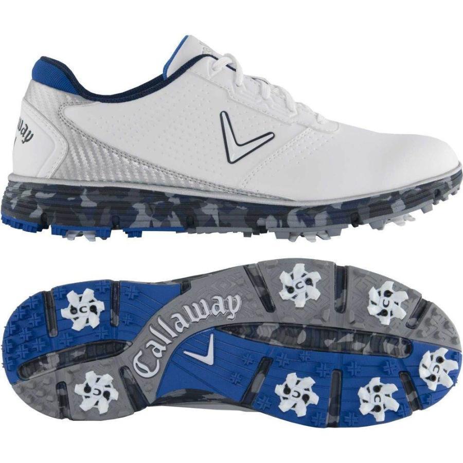 【良好品】 キャロウェイ White/Blue Callaway メンズ シューズ・靴 ゴルフ シューズ Balboa・靴 Balboa TRX Golf Shoes White/Blue, あるだけショップ:94fb9ad6 --- airmodconsu.dominiotemporario.com