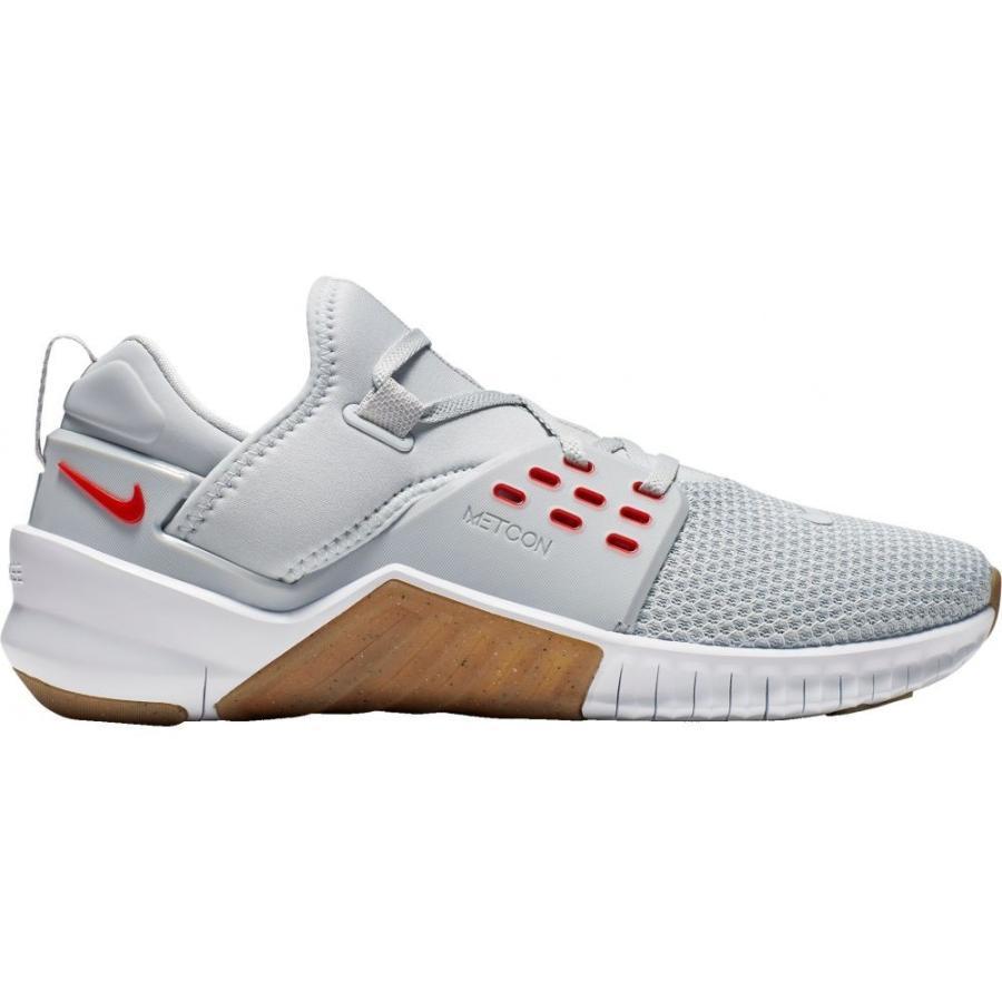 【正規品】 ナイキ Platinum/Red Nike メンズ フィットネス Metcon・トレーニング シューズ・靴 2 Free X Metcon 2 Training Shoes Platinum/Red, 遊佐町:3a1fdd31 --- airmodconsu.dominiotemporario.com