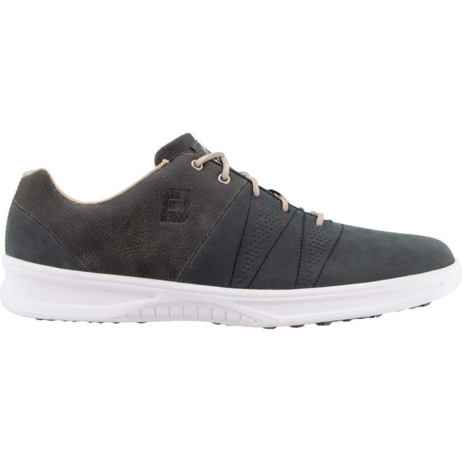 最新入荷 フットジョイ FootJoy メンズ ゴルフ シューズ・靴 Contour Casual Golf Shoes Charcoal, 賑わいマーケット 8c686e00