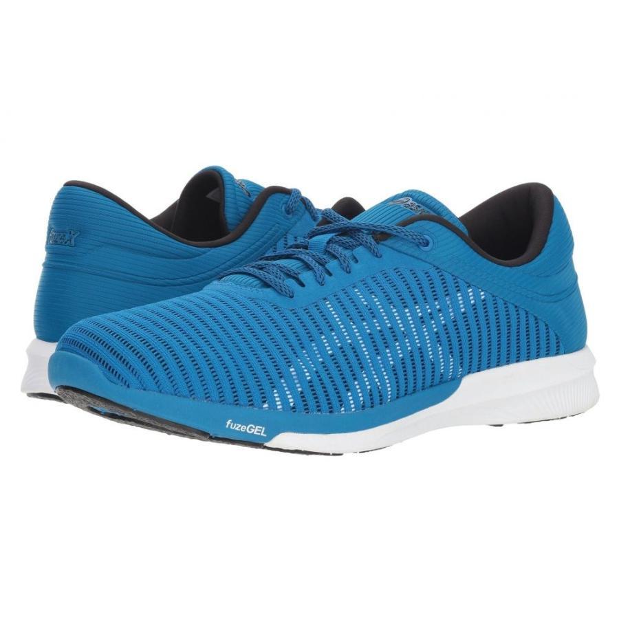 アシックス ASICS メンズ シューズ・靴 ランニング・ウォーキング fuzeX Rush Adapt Race 青/白い