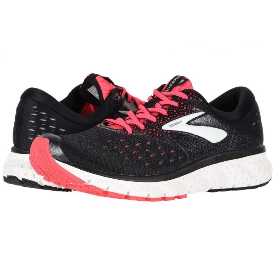 ブルックス Brooks レディース シューズ・靴 ランニング・ウォーキング Glycerin 16 黒/ピンク/グレー
