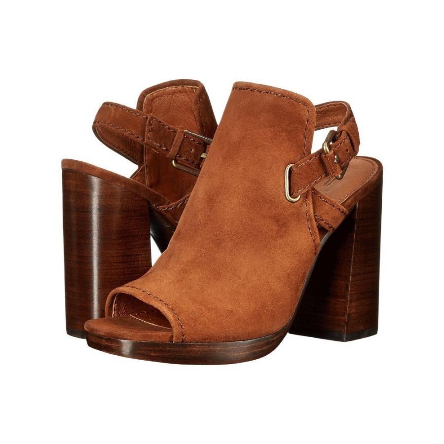 低価格 フライ Frye レディース ヒール シューズ・靴 Karissa Shield Sling Wood Suede, 木彫り 置物 のwood&life f4e8fb67