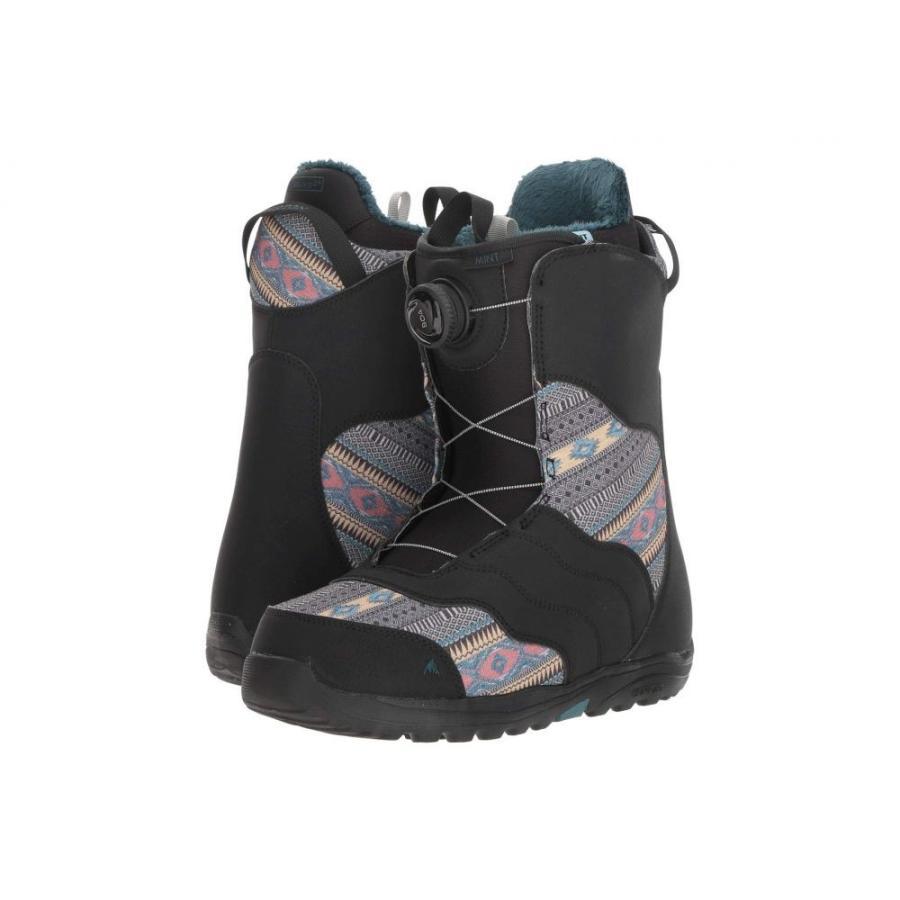 バートン Burton レディース シューズ・靴 スキー・スノーボード Mint Boa '19 黒/Multi