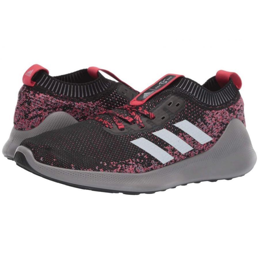アディダス adidas Running メンズ シューズ・靴 ランニング・ウォーキング pureBounce+ Core 黒/銀 Metallic/Scarlet