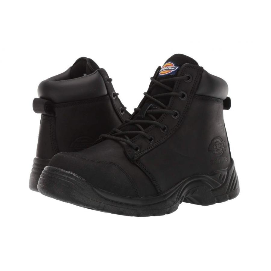 当店だけの限定モデル ディッキーズ メンズ Dickies メンズ ブーツ シューズ・靴 Toe Wrecker 6 Wrecker Steel Toe Black, 中里町:bc0e4e22 --- sonpurmela.online