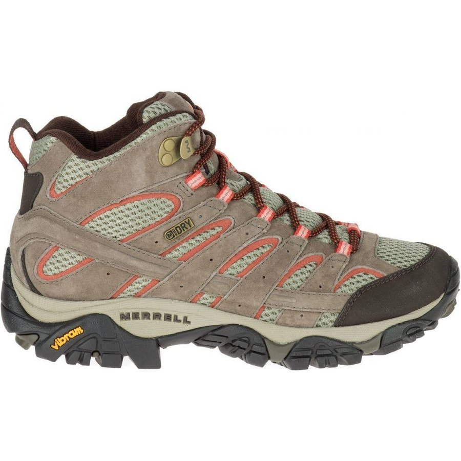 メレル Merrell レディース シューズ・靴 ハイキング・登山 Moab 2 Mid Waterproof Hiking Boots Bungee Cord