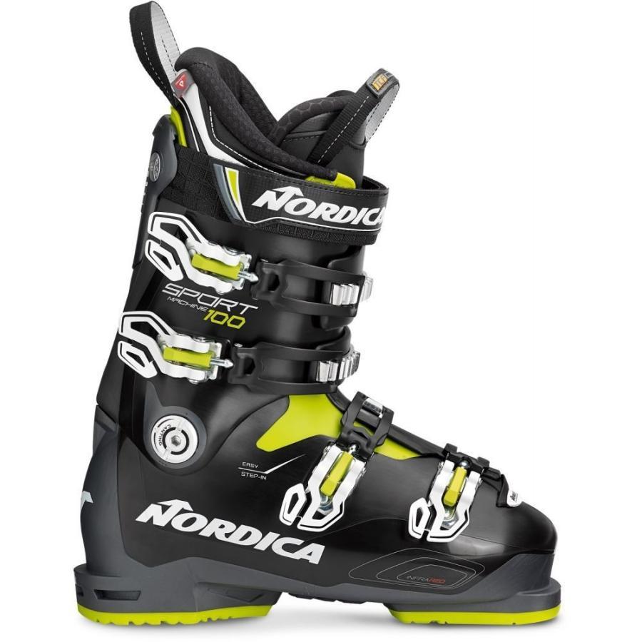 ノルディカ Nordica メンズ シューズ・靴 スキー・スノーボード Sportmachine 100 Ski Boots 2019 Anthracite/黒/Lime