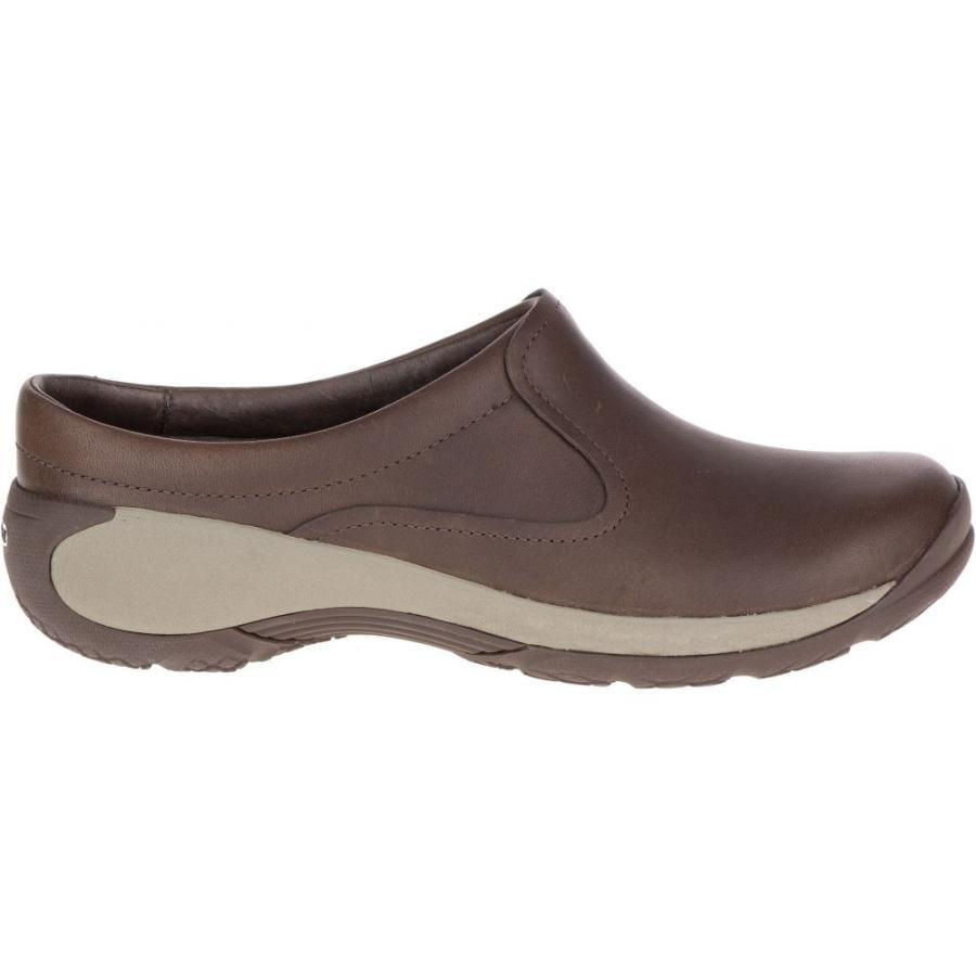 信頼 メレル Merrell レディース シューズ・靴 Encore Q2 Slide Leather Shoes Espresso, Bisモック 6bca826c