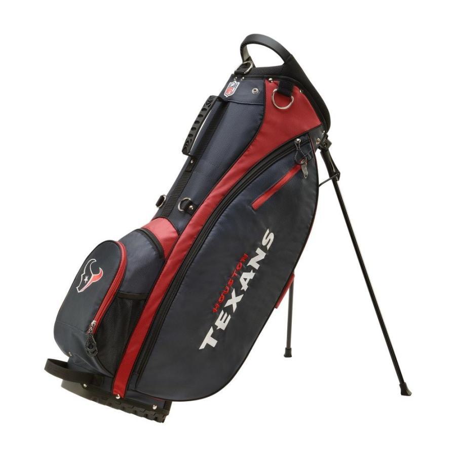 ウィルソン Wilson ユニセックス ゴルフ Houston Texans Carry Golf Bag 青