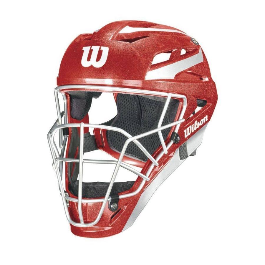 ウィルソン Wilson ユニセックス 野球 pro stock catchers mask Scarlet