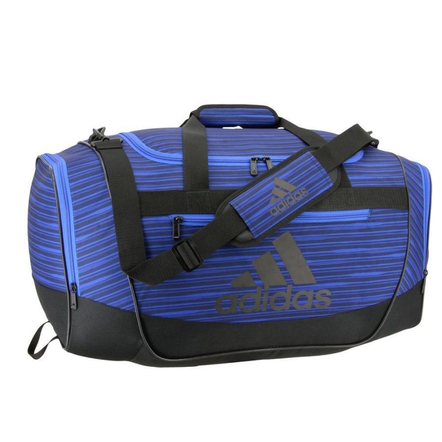 アディダス adidas ユニセックス ボストンバッグ・ダッフルバッグ バッグ Defender III Medium Duffel Bag Navy/黒