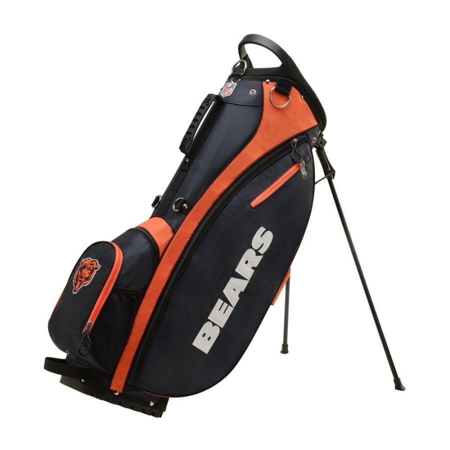 ウィルソン Wilson ユニセックス ゴルフ Chicago Bears Carry Golf Bag オレンジ