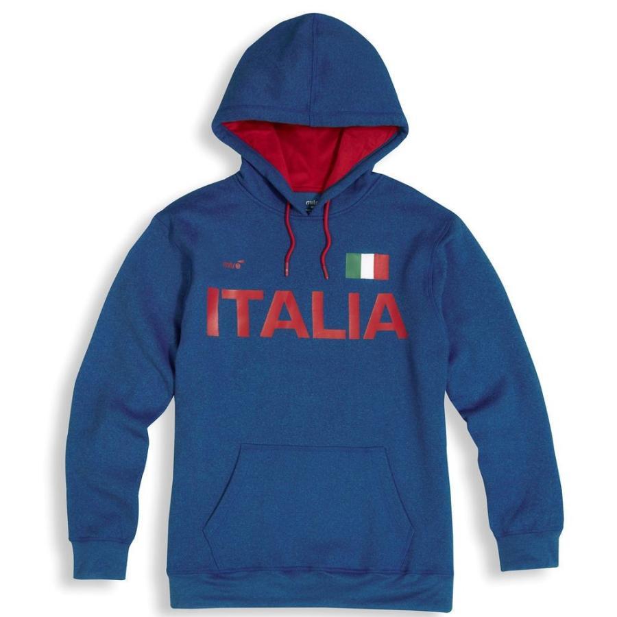 マイター Mitre メンズ トップス サッカー Italy 2018 Hoodie Royal
