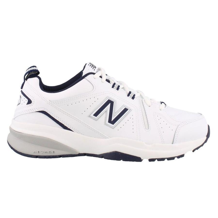 ニューバランス New Balance メンズ シューズ・靴 フィットネス・トレーニング 608 V5 Training Shoe 白い/Navy