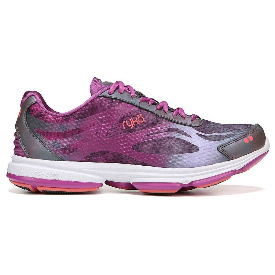 ライカ Ryka レディース ランニング・ウォーキング シューズ・靴 devotion plus 2 wide width walking shoe グレー