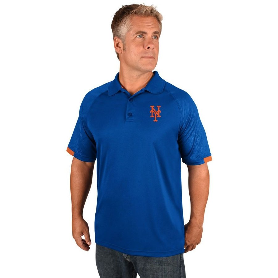 【今日の超目玉】 マジェスティック Mets Majestic メンズ ポロシャツ トップス トップス New York New Mets Adult Polo (Big & Tall) Royal, スクールシャツ通販:699ce679 --- sonpurmela.online