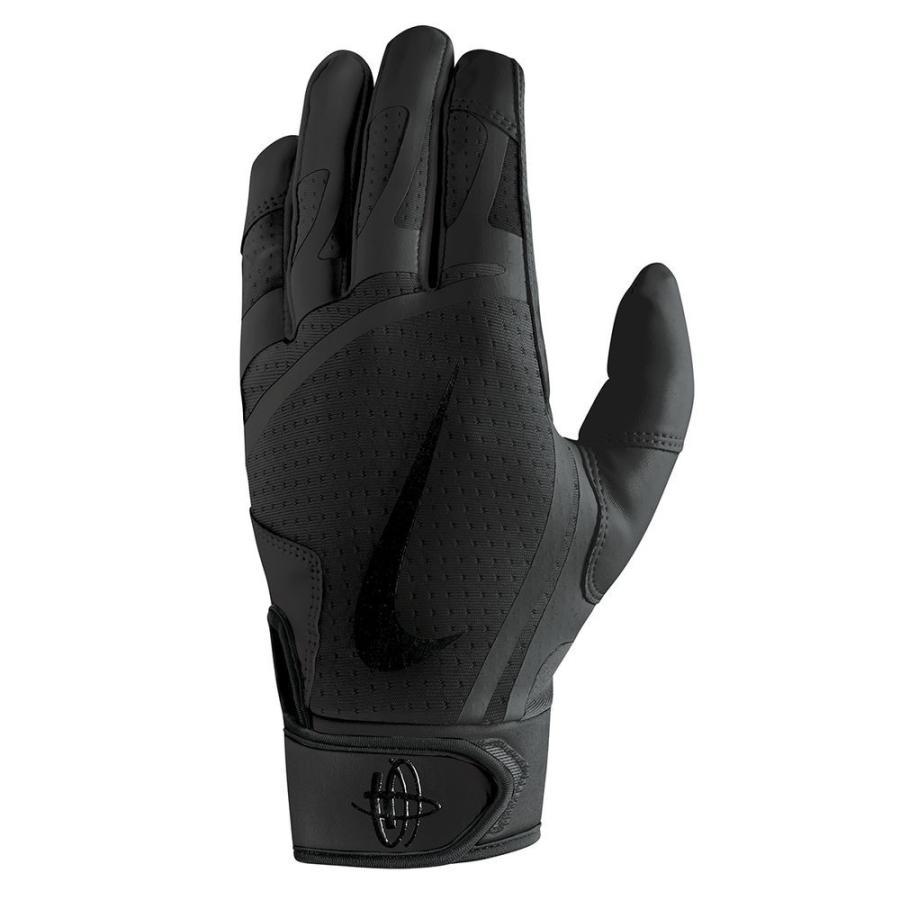 ナイキ Nike ユニセックス グローブ 野球 Huarache Edge Adult Batting Glove 黒/黒