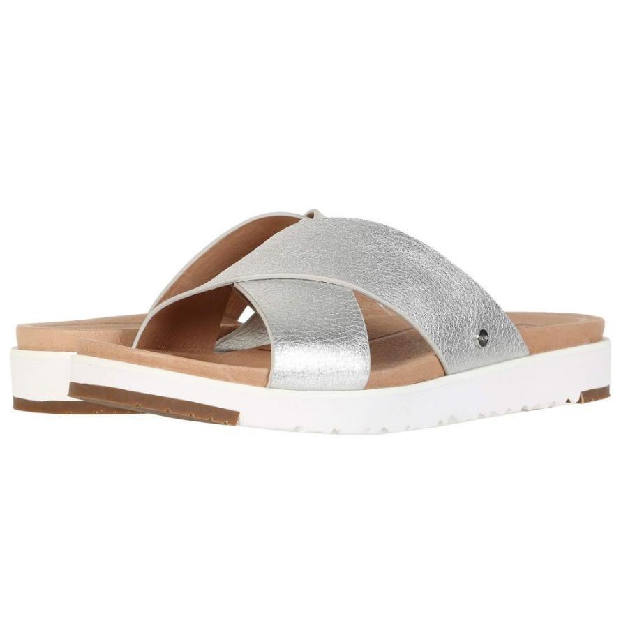 【再入荷!】 アグ UGG レディース アグ サンダル シューズ・靴・ミュール シューズ・靴 Kari Silver Kari Metallic, 【有名人芸能人】:df2c2ded --- theroofdoctorisin.com