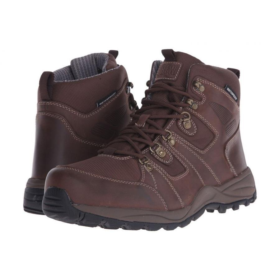 ドリュー メンズ シューズ・靴 ハイキング・登山 Trek Dark Brown Leather