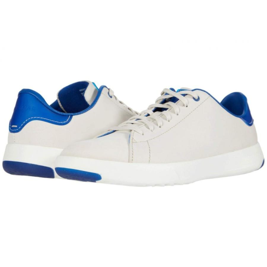 送料無料 コールハーン Cole Haan メンズ テニス スニーカー シューズ・靴 GrandPro Tennis Sneaker Birch/Optic White/True Blue, ブランドショップ アッシュ a2dd0c40
