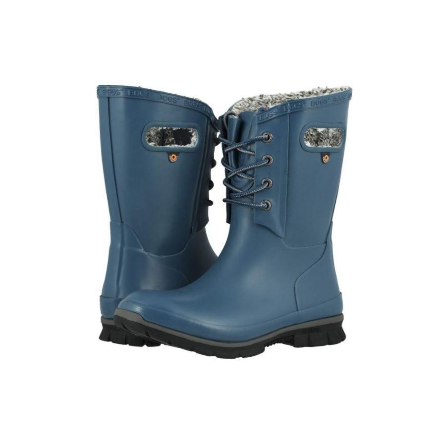 ボグス Bogs レディース スキー・スノーボード シューズ・靴 Amanda Plush Legion 青