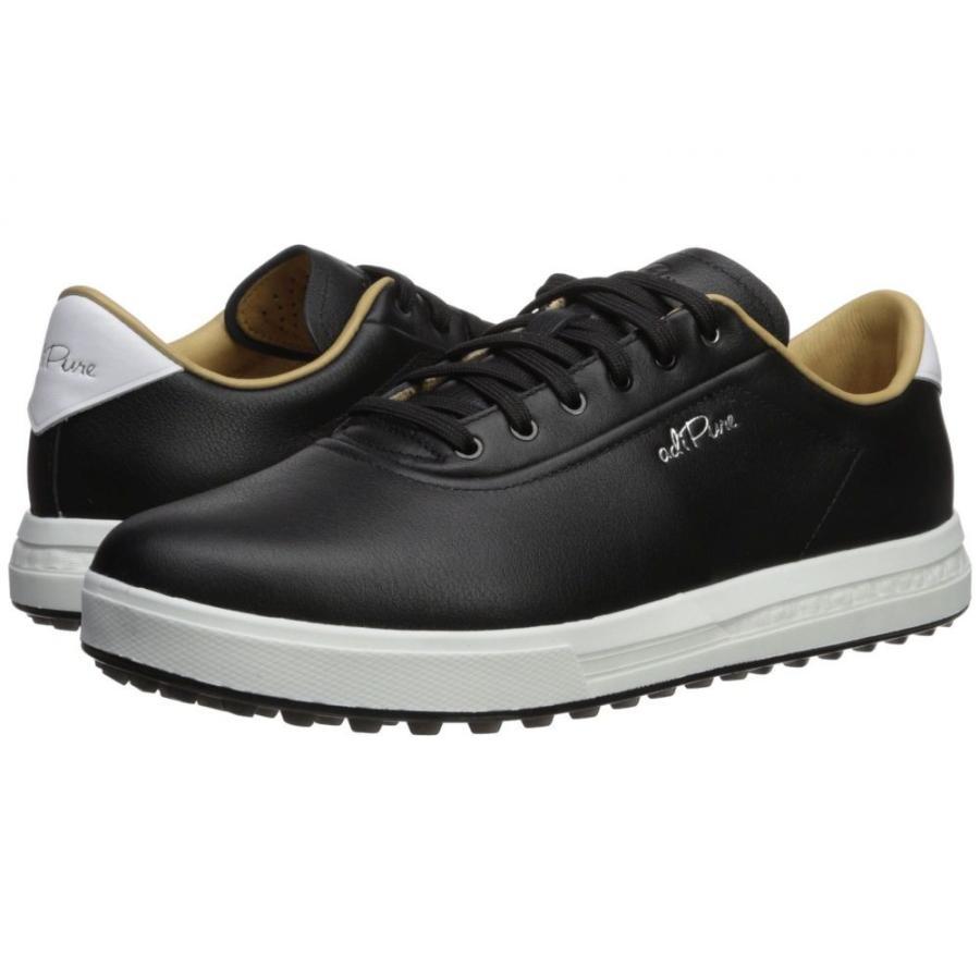アディダス adidas Golf メンズ シューズ・靴 ゴルフ Adipure SP Core 黒/Footwear 白い/銀 Metallic