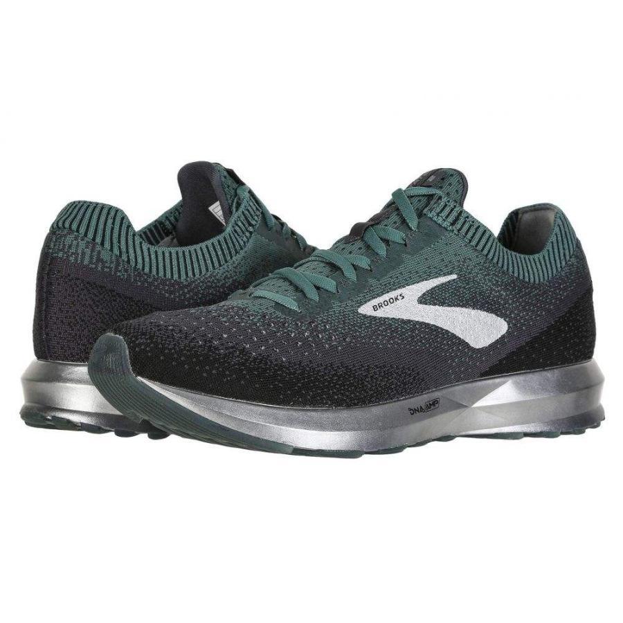 ブルックス Brooks メンズ シューズ・靴 ランニング・ウォーキング Levitate 2 Mallard 緑/グレー/黒