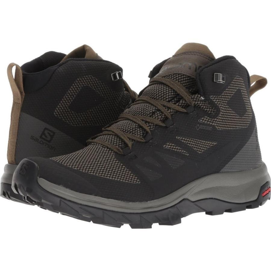サロモン Salomon メンズ シューズ・靴 ハイキング・登山 Outline Mid GTX Black/Beluga/Capers