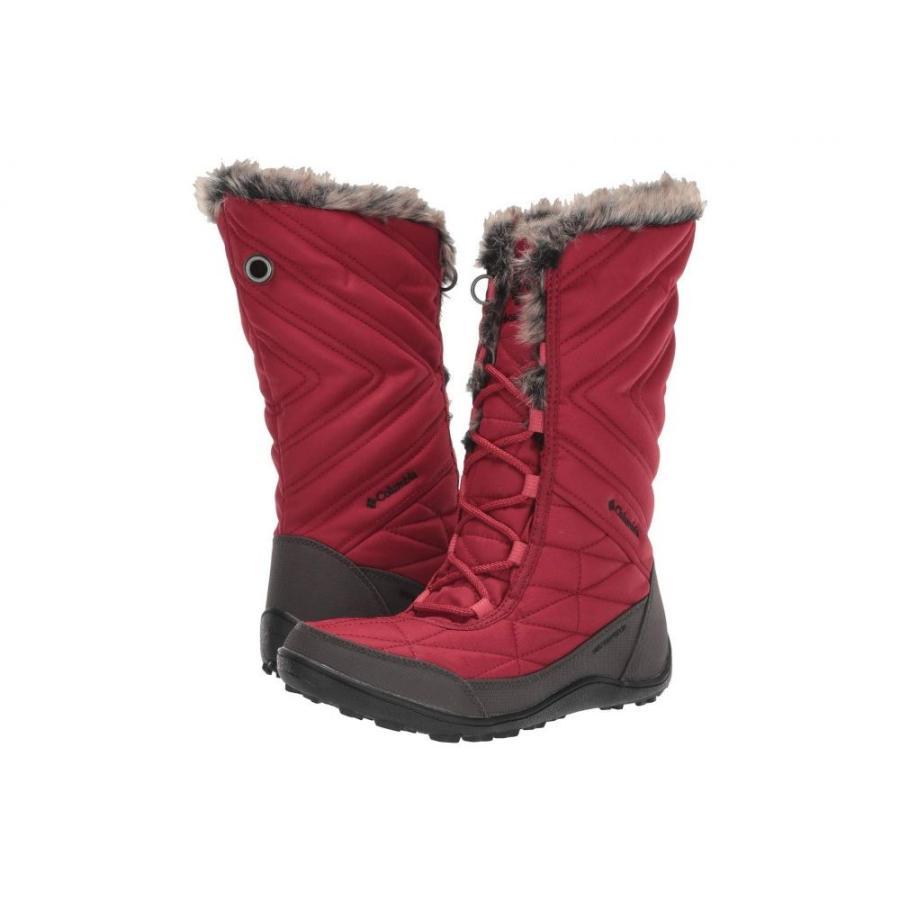 コロンビア Columbia レディース スキー・スノーボード シューズ・靴 Minx Mid III Beet/Da赤evil