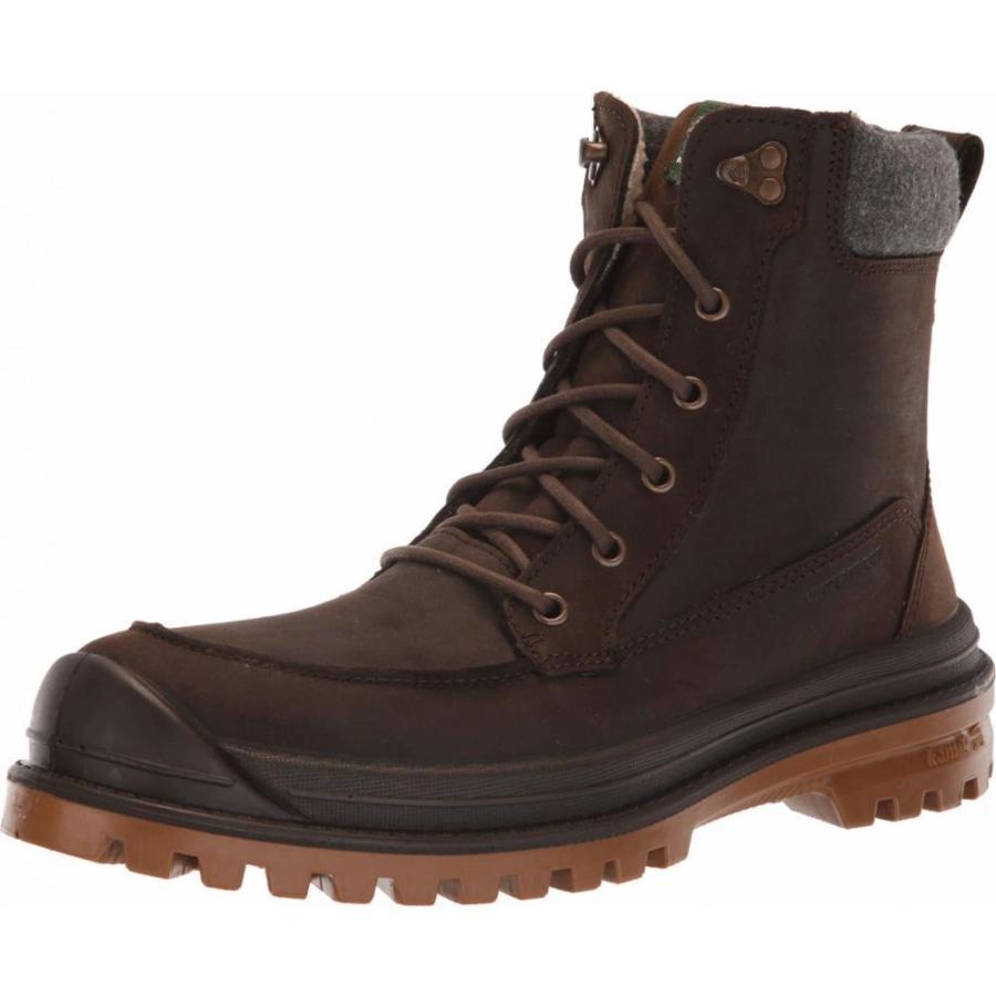 カミック Kamik メンズ スキー・スノーボード シューズ・靴 Griffon2 Dark 褐色