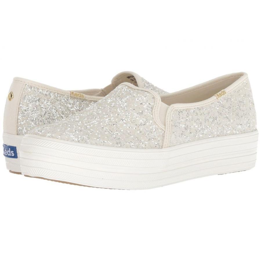 【まとめ買い】 ケイト スペード Keds x kate spade new york レディース スニーカー シューズ・靴 Bridal Triple Decker Glitter Cream Glitter, サンディフロッグ 5078d322