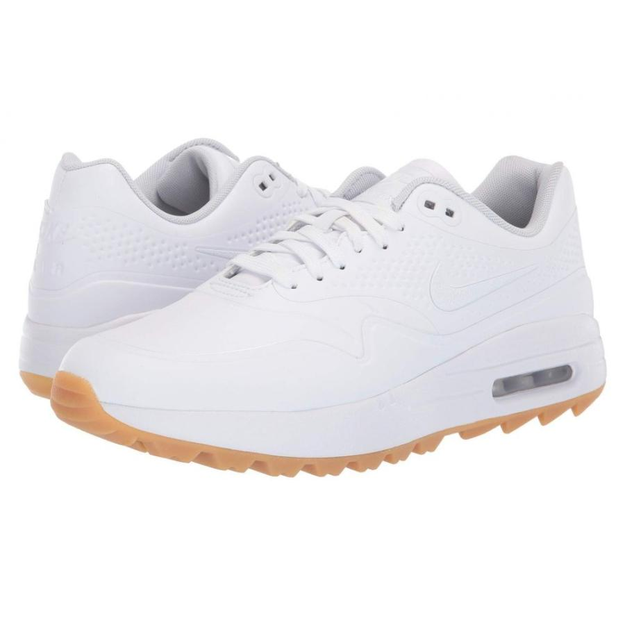 ナイキ Nike Golf レディース シューズ・靴 ゴルフ Air Max 1 G 白い/白い/Gum Light 褐色