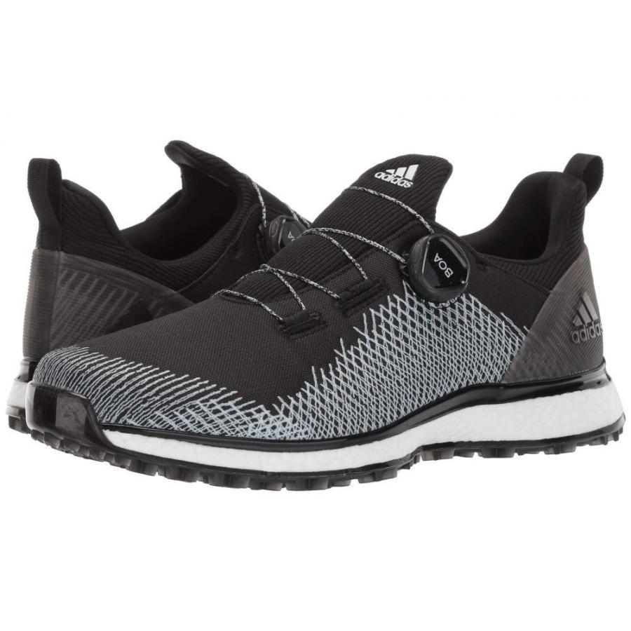 アディダス adidas Golf メンズ シューズ・靴 ゴルフ Forgefiber Boa Core 黒/Footwear 白い/Hi-Res 黄
