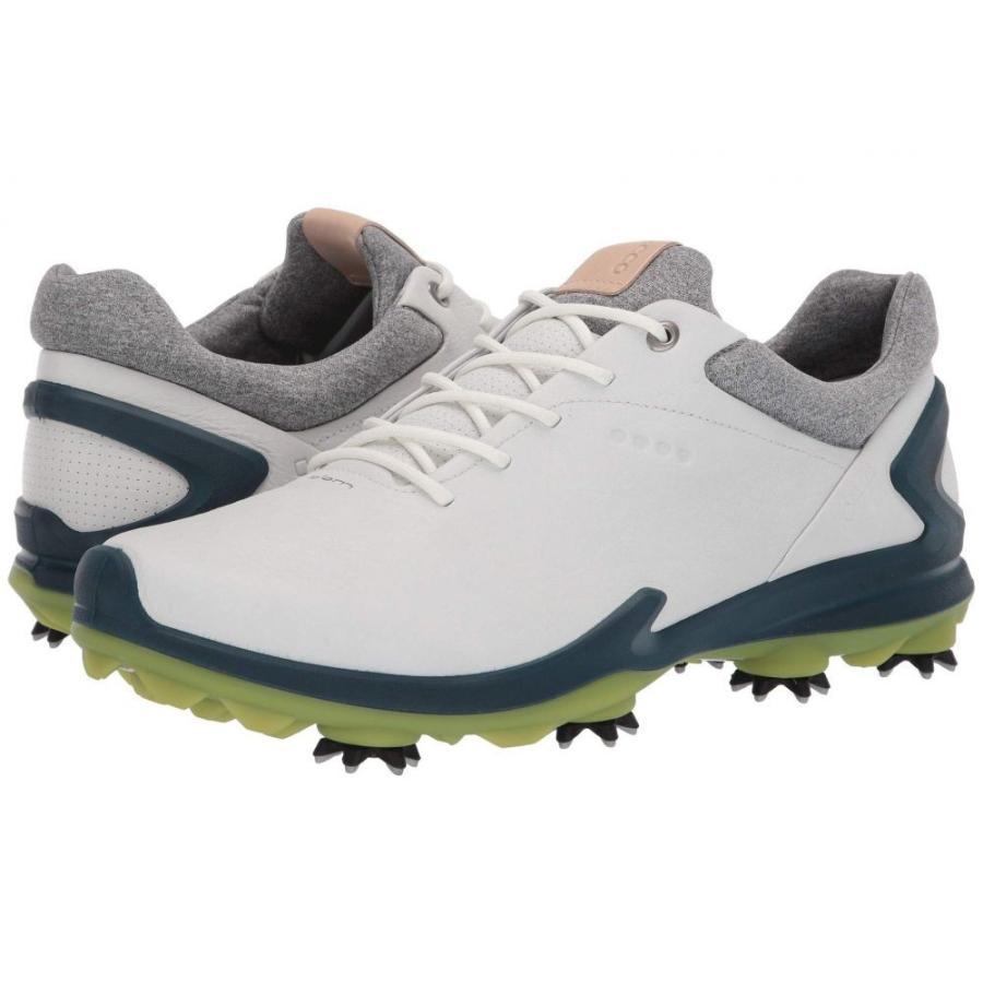 【60%OFF】 エコー ECCO Golf メンズ シューズ White/Dark・靴 エコー ゴルフ BIOM BIOM G 3 Shadow White/Dark Petrol, スペシャリティーショップ デイ:d0fbd453 --- airmodconsu.dominiotemporario.com