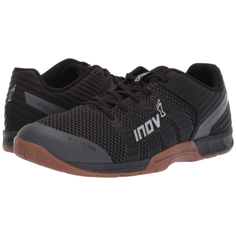 上品 イノヴェイト inov-8 レディース スニーカー シューズ・靴 F-Lite(TM) 260 Knit Black/Gum, スカイショップ小笠原Express 020e8108