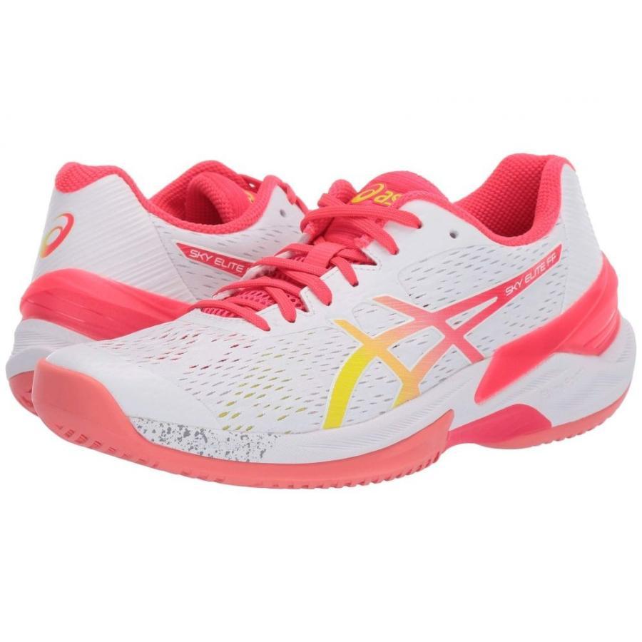 アシックス ASICS レディース シューズ・靴 バレーボール Sky Elite FF 白い/Laser ピンク